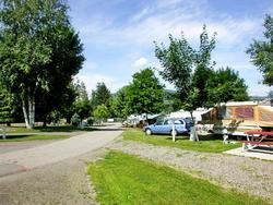 RV Sites - fully serviced