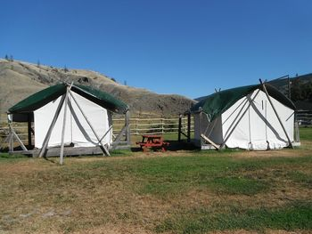 Miner�s Tents (canvas)