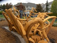 Coastal Cedar Creations, Warren Brubacher, Brackendale
