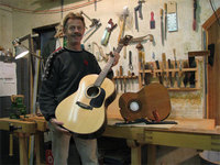 Rich Guitars, Rich Pielou, Quadra Island