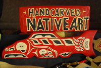 1st Nations Street Carvers, Dennis  Rose, Vancouver Downtown