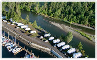 Pacific Playgrounds RV Park, Cottages & Marina, Black Creek