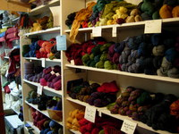 Indigo Moon yarns and handwoven textiles, Gabriola Island
