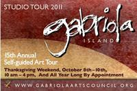 Gabriola Island's 15th Annual Thanksgiving Studio Tour