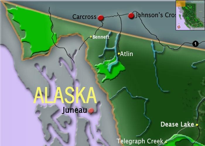 Northern Bc Map Map of Northern BC | BC maps | Go BC Travel Northern Bc Map