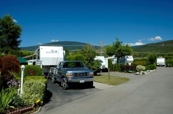 Landscaped RV Site