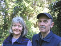 Glassworks & Anvil Art, Jane & Roger Ferland, Gabriola Island