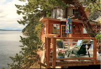 Cliffhouse Cottages, Galiano Island