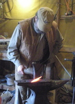 Tom Coles- Blacksmith, Tom Coles, Clearwater