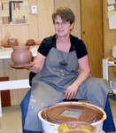 Pottery by fran, Fran Moll, Trail