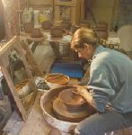Earthlight Pottery, Hanna Lewandowski, Quadra Island